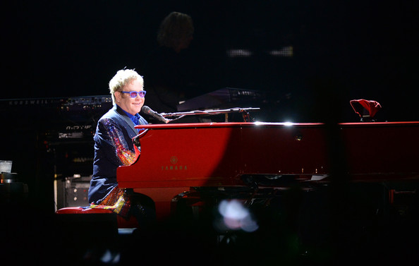 Artist Sir Elton John performs during the 2014 Bonnaroo Music & Arts Festival