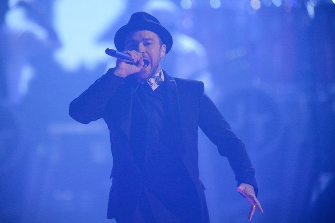 Justin Timberlake performs at iHeartRadio Music Festival