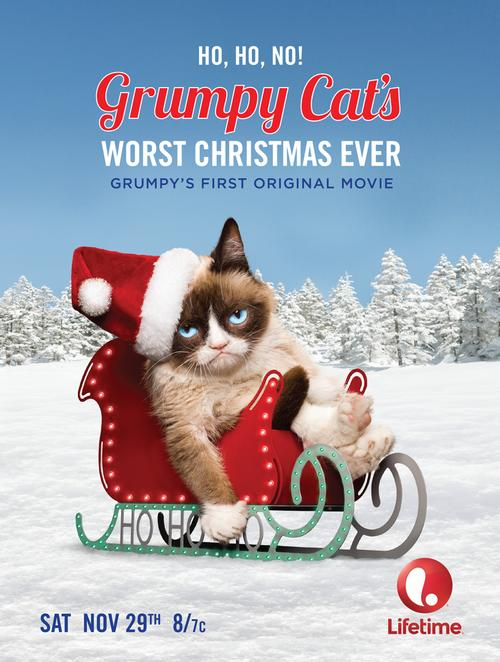 First Grumpy Cat's Worst Christmas Ever Trailer Released