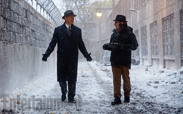 First look: Steven Spielberg and Tom Hanks reteam for a Cold War spy mission