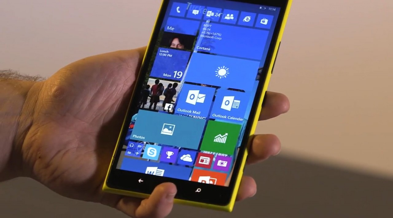 Windows 10 will share apps with the phone and desktop