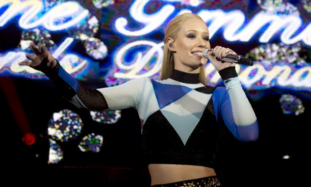 Why are female pop stars frequently accused of being men?