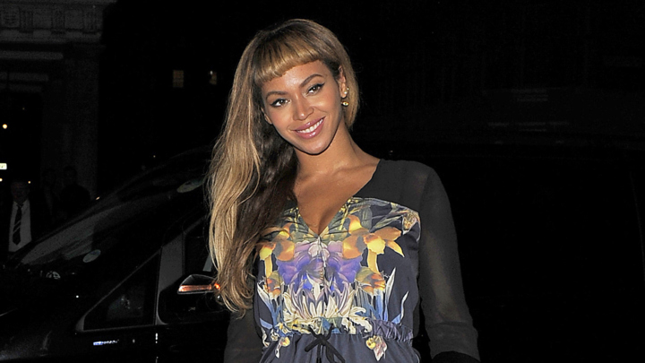 Beyonce at Harry's Bar on October 17th, 2014