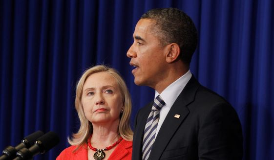 Hillary Clinton most admired woman, Obama most admired man