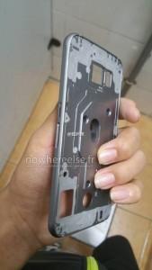 Samsung Galaxy S6 metal frame