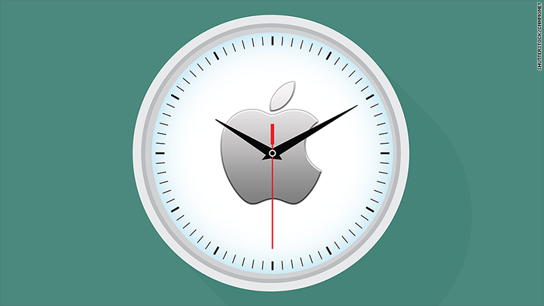 apple timing
