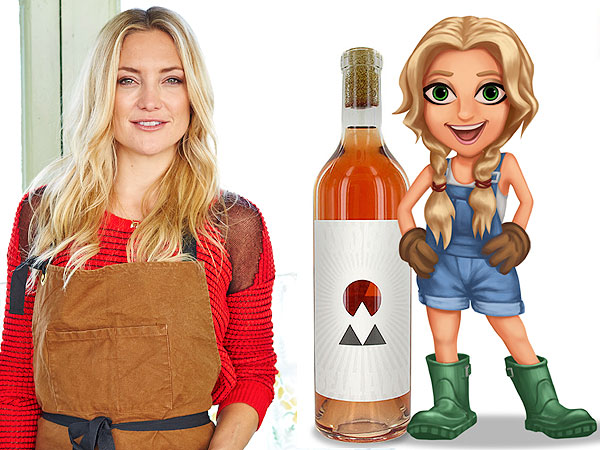 Kate Hudson on Becoming a FarmVille Avatar: 'I'm Really Digging the Outfit