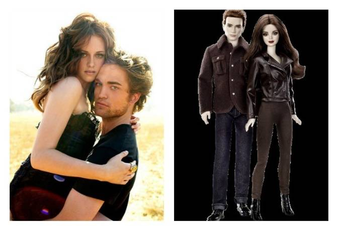 Kristin Stewart and Robert Pattinson