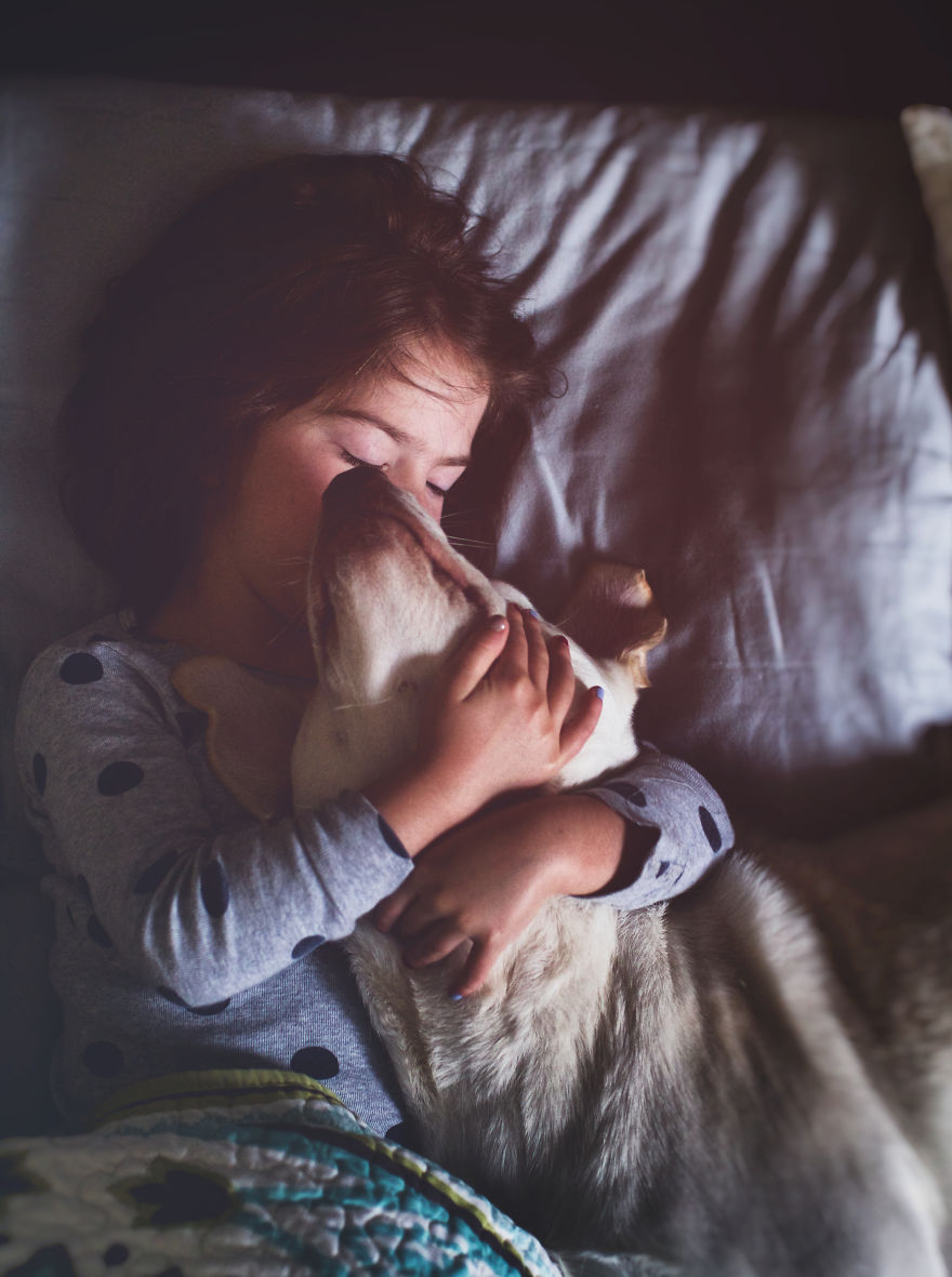 We Adopted A Dog From An Animal Shelter And She Became Our Daughter's Best Friend