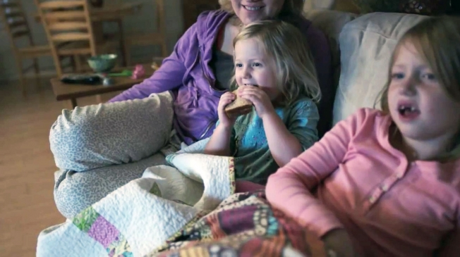 Netflix Films Unscripted Spots in Real People's Homes on Movie Night