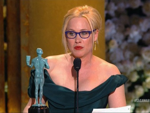 Patricia Arquette Wins the SAG Award for Outstanding Performance by a Female Actor in a Supporting Role