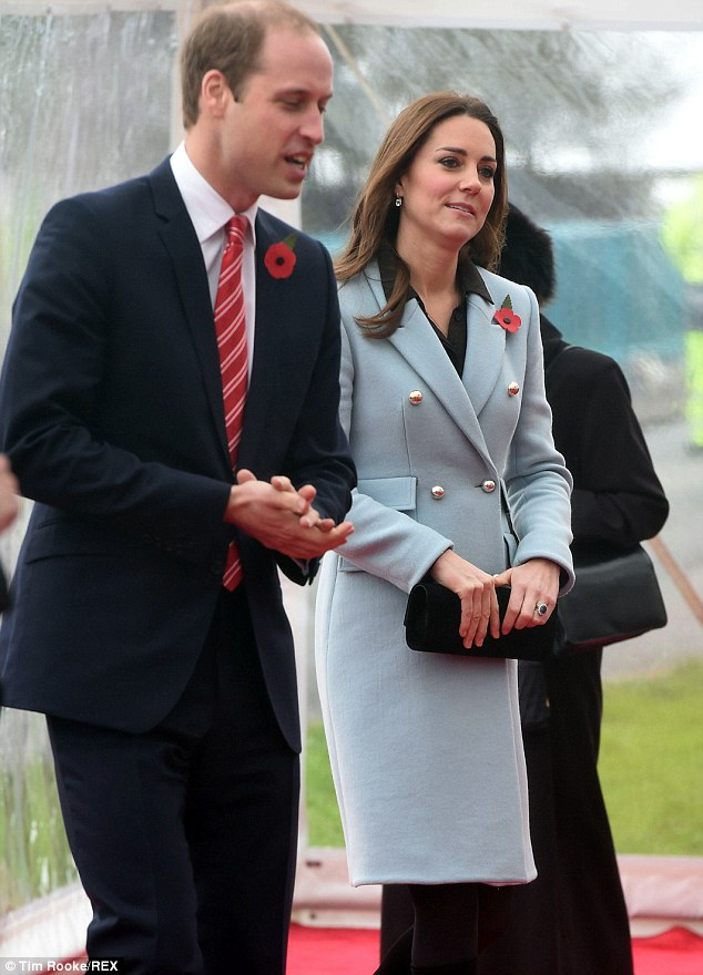 The oil refinery which is celebrating its 50th anniversary said the royal couple's visit was a 'huge honour'