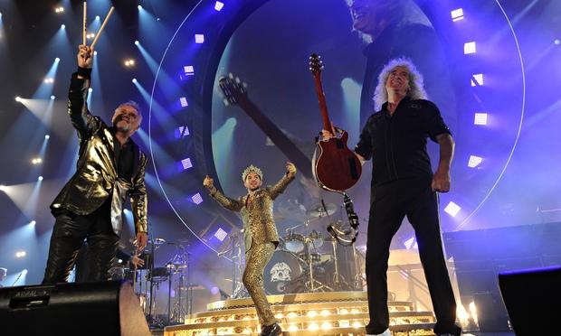 """Freddie is like a myth,"" Lambert says."