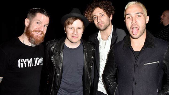"Fall Out Boy collaborate on ""Save Rock And Roll"""