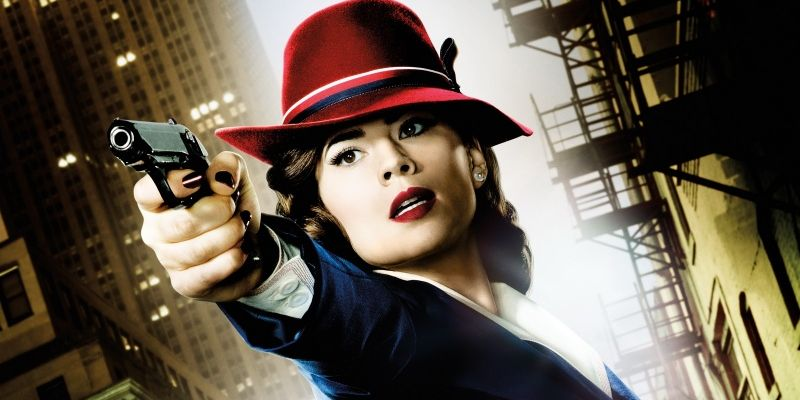 Peggy and Jarvis hit a spot of bother in 'Agent Carter'