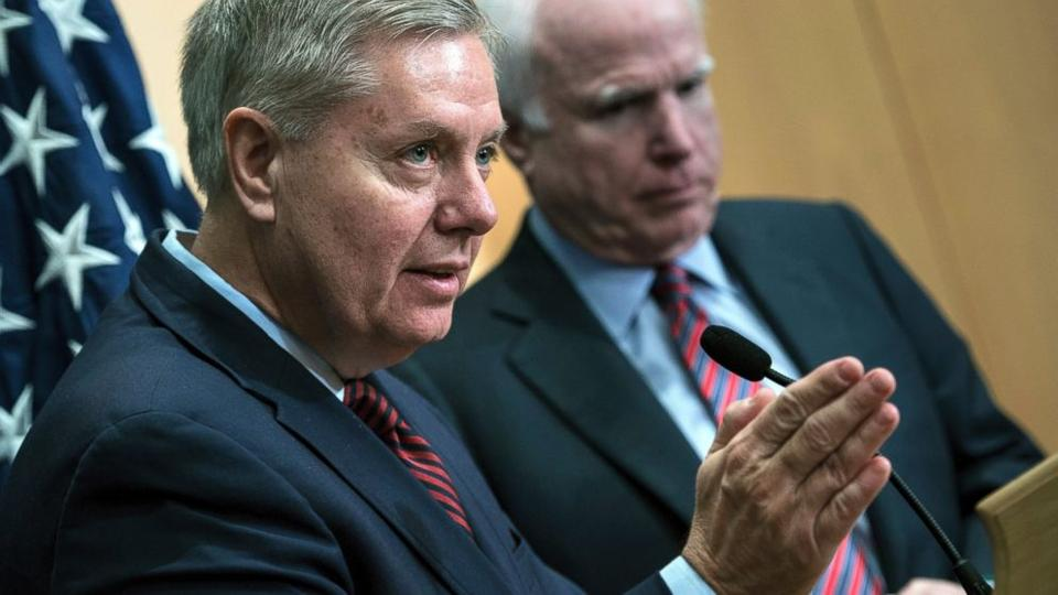 John McCain 'Strongly Encouraging' Lindsey Graham To Consider 2016 Run