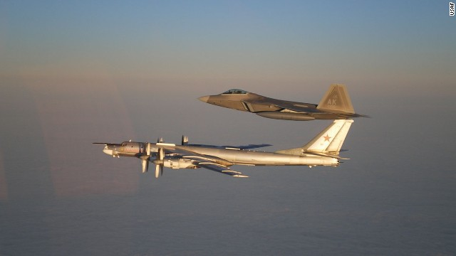 Photos: U.S. and Russian military aircraft