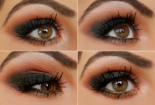 Step by Step Autumn Smokey Eyes Tutorial