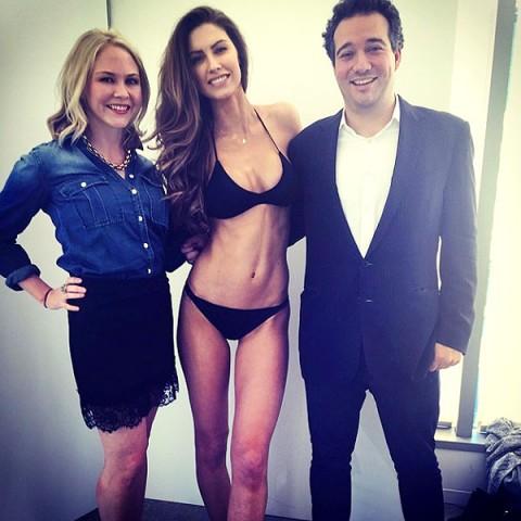Katherine Webb Defends Skinny Bikini Body
