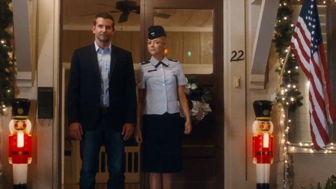 Bradley Cooper and Emma Stone Flirt in Hawaii in Cameron Crowe's 'Aloha' Trailer