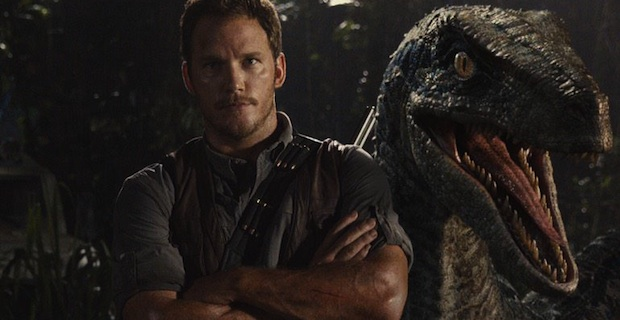 New 'Jurassic World' Image: Raptor Photobombs Chris Pratt