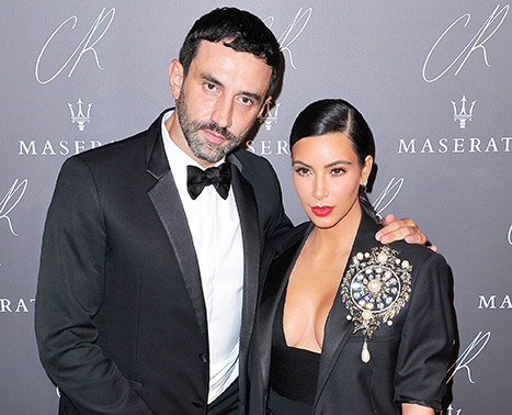"Riccardo Tisci: ""I Got Killed"" Because of My Friendship With Kim Kardashian"