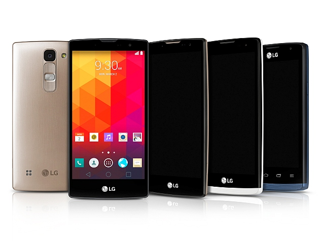 LG Magna, Spirit, Leon and Joy mid-rangers go official