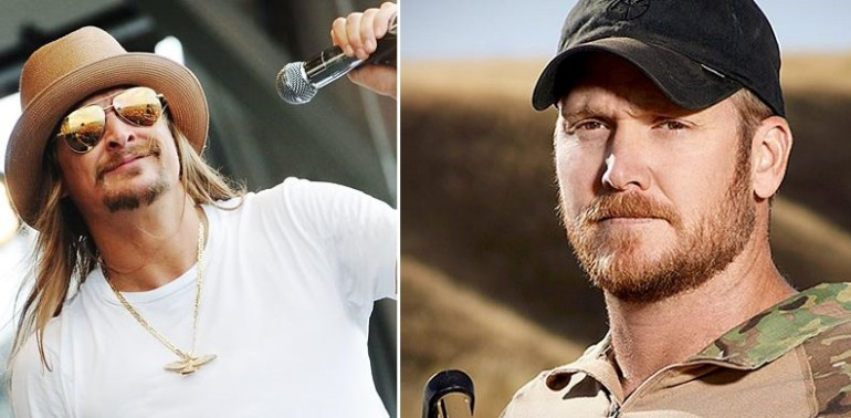 Check Out What Kid Rock Did To Help SEALS Pay Tribute to Chris Kyle