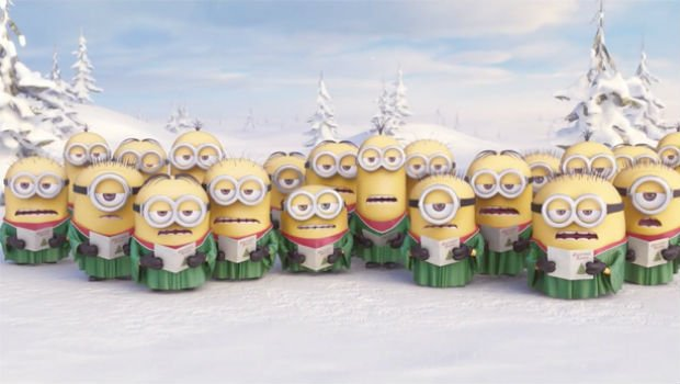 The Minions wish you Season's Greetings!