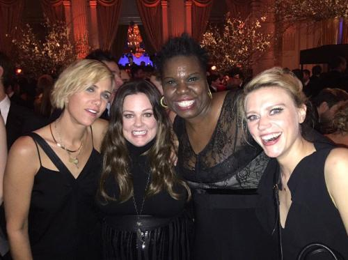 All Four New 'Ghostbusters' Stars Hung Out at the 'SNL' Afterparty