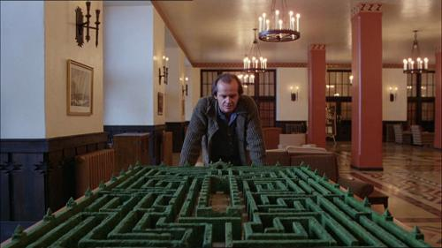 The Co-Host of 'MythBusters' Made an Exact Model of the Maze in 'The Shining'