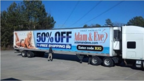 Vibrator Brand Wants People to Take Pictures of Bikini-Clad Bree Olsen on Truck Sides While Driving