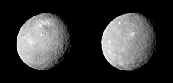 Mysterious Bright Spots Shine on Dwarf Planet Ceres