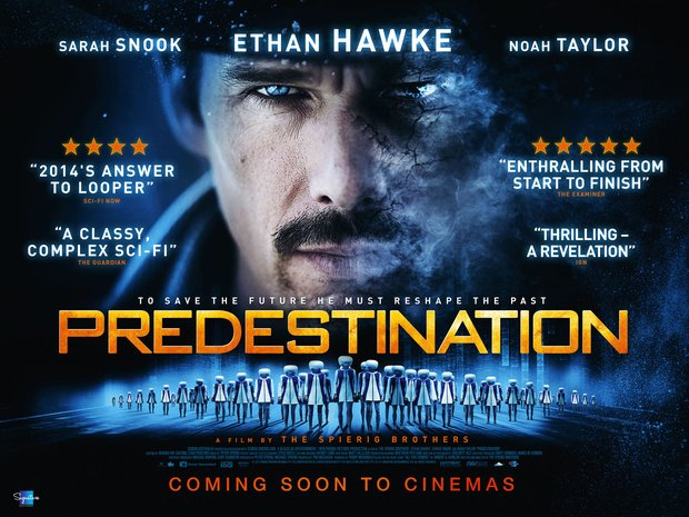 Exclusive UK poster and new images for sci-fi thriller Predestination