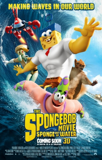 New Poster And Trailer For The SpongeBob Movie