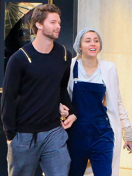 Miley Cyrus Can't Spell Boyfriend Patrick Schwarzenegger's Last Name