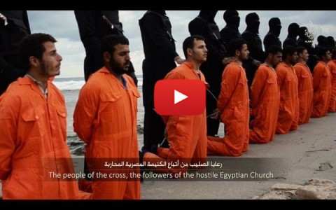 "Hillary's ""Rebels"" Behead 21 Coptic Christians In Libya…"