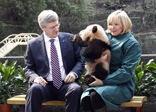 10 Times The Canadian Prime Minister Wasn't Sure How To Pose With Animals