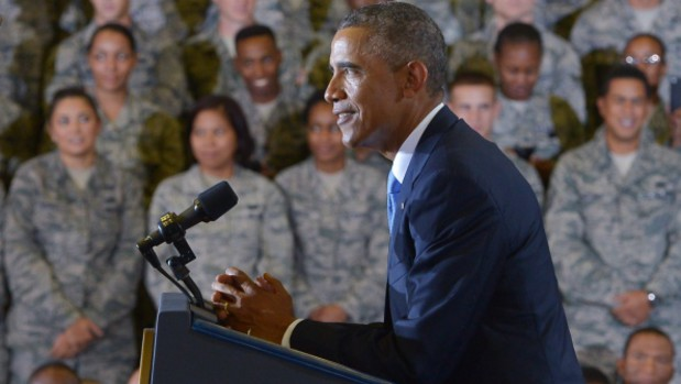 Obama seeks some limits on ground troops for Islamic State fight