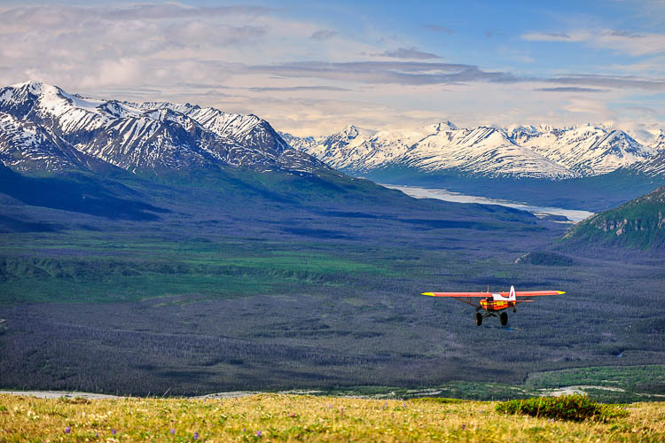 FLYING ON THE WILD WINGS OF ALASKA