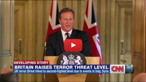 London False Flag Watch: UK Raises Terror Threat