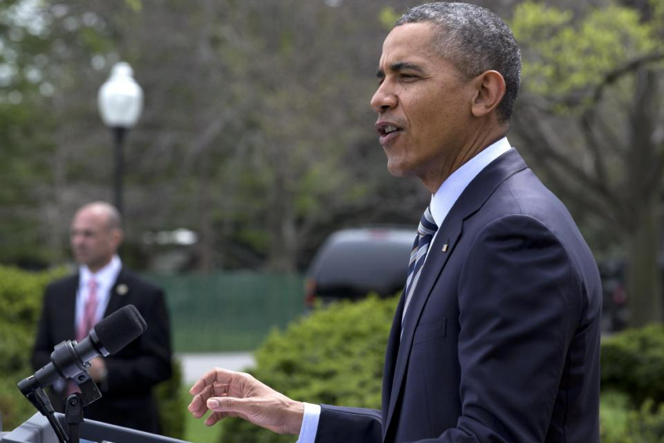 Calling for cooperation, Obama engages in confrontation