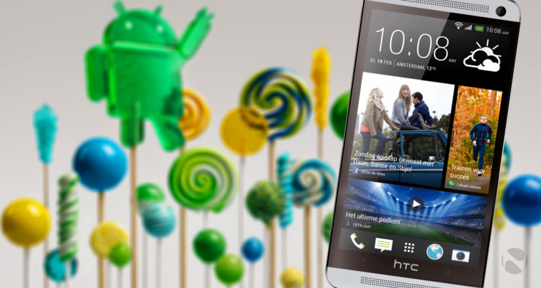 Lollipop update now rolling out for the HTC One M7 in Europe