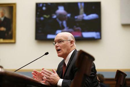 Acting head of Secret Service Joe Clancy testifies on Capitol Hill in  Washington