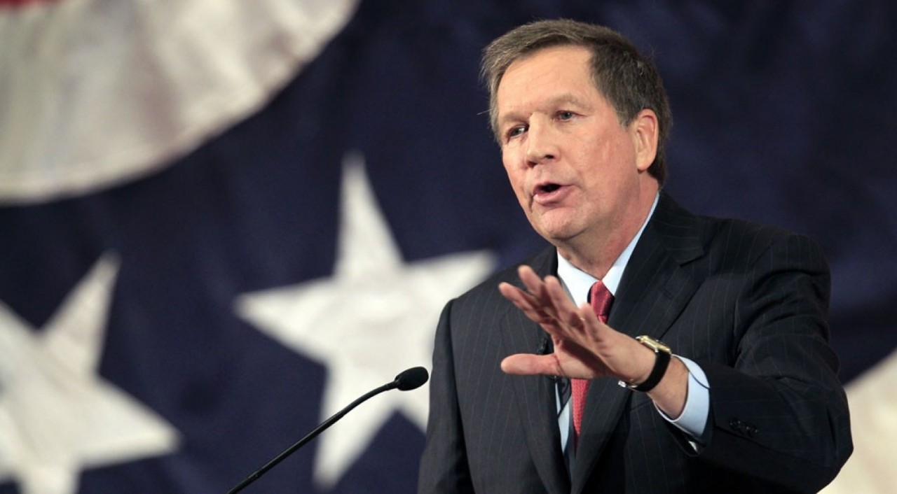 John Kasich just broke from his party on Obamacare. Or did he?