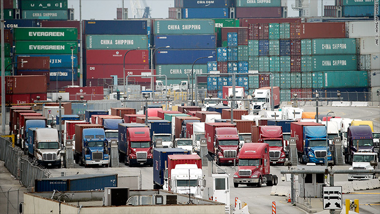 Truck drivers are big losers in port dispute