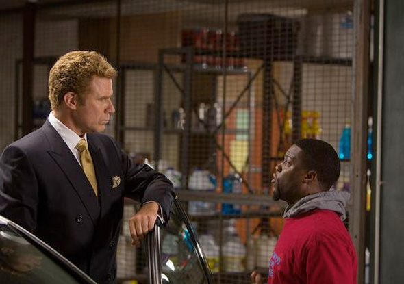 First Look: Will Ferrell Bench Presses Kevin Hart in 'Get Hard' Comedy