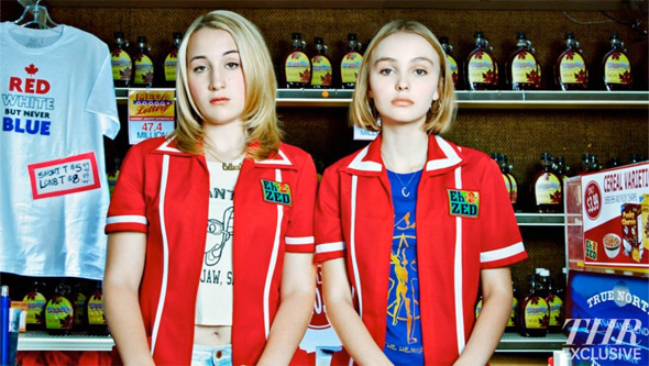 First Look: Harley Quinn Smith and Lily-Rose Depp in 'Yoga Hosers'