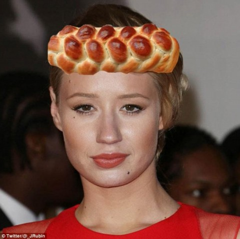 Everything Iggy Azalea's Hair Looked Like At The Grammys