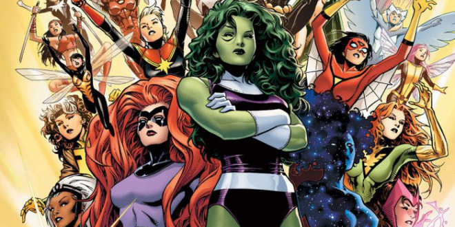 First Look At Marvel's All-Female Avengers, 'A-Force'